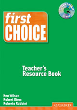 First Choice Teacher´s Resource Book with Click and Change CD-ROM Pack