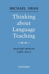 Thinking About Language Teaching - Selected Articles 1982-2011