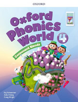 Oxford Phonics World 4 Student´s Book with Reader e-Book Pack