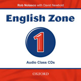 ENGLISH ZONE 1 CLASS AUDIO CD