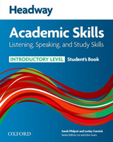 Headway Academic Skills Introductory Listening, Speaking and Study Skills Student´s Book
