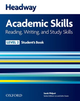 Headway Academic Skills 2 Reading, Writing and Study Skills Student´s Book with Online Practice