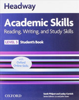Headway Academic Skills 3 Reading, Writing and Study Skills Student´s Book with Online Practice