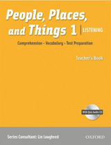 People, Places, and Things Listening 1 Teacher´s Book with Audio CD