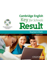 Cambridge English Key For Schools Result Teacher´s Pack