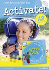 Activate! A2 Student´s Book with ActiveBook CD-ROM & Internet Access Code