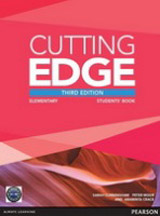 Cutting Edge Elementary (3rd Edition) Student´s Book with Class Audio & Video DVD