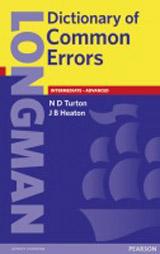Longman Dictionary of Common Errors Book
