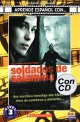 Aprende espanol con ... Nivel 3 (B1) Soldados de Salamina - Libro + CD