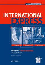 International Express Interactive Pre-Intermediate Workbook with Audio CD