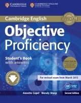 Objective Proficiency (2nd Edition) Student´s Book Pack (Student´s Book with Answers & Downloadable Software & Class Audio CDs)