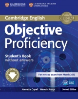 Objective Proficiency (2nd Edition) Student´s Book without Answers with Downloadable Software
