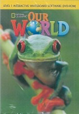 Our World 1 Classroom Presentation Tool / Interactive WhiteBoard Software CD-ROM