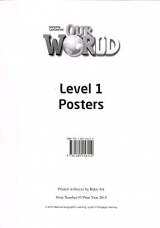 Our World 1 Poster Set