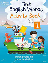 Collins First English Words Activity Book 1