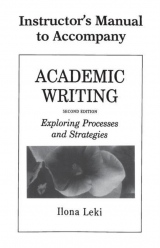 Academic Writing Instructor´s Manual