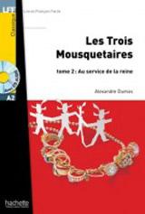LFF A2 LES TROIS MOUSQUETARIES 2 + CD Audio MP3