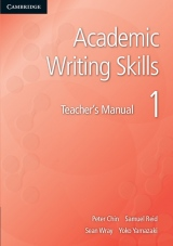 Academic Writing Skills 1 Teacher´s Book