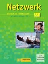 NETZWERK A2 TEIL 1 KURSBUCH und ARBEITSBUCH mit AUDIO CDs /2/ und DVD