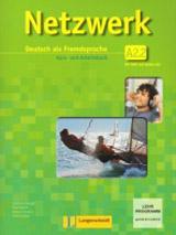 NETZWERK A2 TEIL 2 KURSBUCH und ARBEITSBUCH mit AUDIO CDs /2/ und DVD
