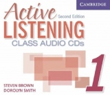 Active Listening Second Edition Level 1 Class Audio CDs (3)