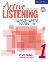 Active Listening Second Edition Level 1Teacher´s Manual with Audio CD