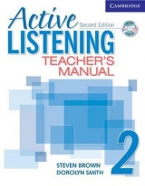 Active Listening Second Edition Level 2 Teacher´s Manual with Audio CD