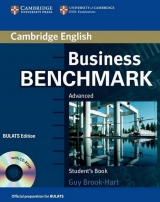 Business Benchmark Advanced Student´s Book with CD-ROM BULATS edition