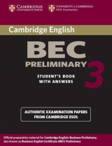 Cambridge BEC 3 Preliminary Student´s Book with answers