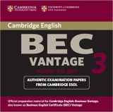 Cambridge BEC 3 Vantage Audio CD