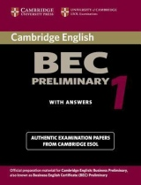 Cambridge BEC Preliminary Practice Tests 1 Student´s Book with answers