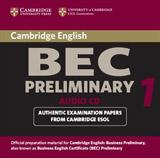 Cambridge BEC Preliminary Practice Tests 1 Audio CD
