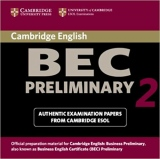 Cambridge BEC Preliminary Practice Tests 2 Audio CD