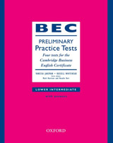 BEC Practice Tests Preliminary Book with Key