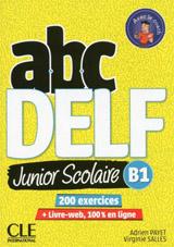 ABC DELF Junior scolaire B1 - Livre + DVD + Livre-web - 2ème édition