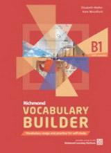 Richmond Vocabulary Builder B1 Student´s Book without Answers with Internet Access Code