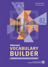 Richmond Vocabulary Builder B2 Student´s Book without Answers with Internet Access Code