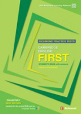 RICHMOND PRACTICE TESTS FOR CAMBRIDGE: FIRST STUDENT´S BOOK WITH ANSWERS