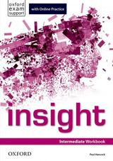 Insight Intermediate Workbook with Online Practice