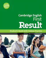 First Result Student´s Book and Online Practice Test