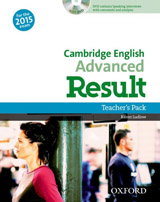 Advanced Result Teacher´s Book with DVD