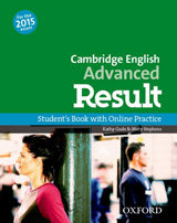 Advanced Result Student´s Book with Online Practice Test