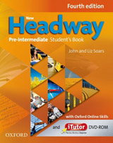 New Headway Pre-Intermediate (4th Edition) Student´s Book with iTutor & Online Practice