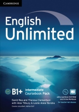 English Unlimited Intermediate Coursebook with e-Portfolio and Online Workbook