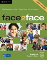 face2face 2nd Edition Advanced Student´s Book with CD-ROM