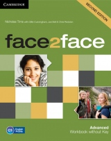 face2face 2nd Edition Advanced Workbook without Key