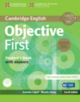 Objective First 4th Edition Student´s Book Pack (Student´s Book with Answers, CD-ROM & Class Audio CDs(2))