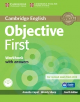 Objective First 4th Edition Workbook with Answers & Audio CD