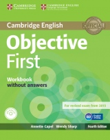 Objective First 4th Edition Workbook without Answers with Audio CD