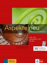 Aspekte neu B1+ in Teilbänden Lehr- und Arbeitsbuch Teil 1 mit Audio CD